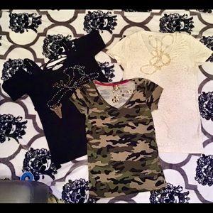 Juniors tee shirt bundle size small